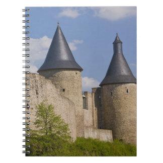 Luxembourg, Sure River Valley. Bourscheid, Spiral Notebook