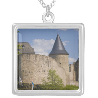 Luxembourg, Sure River Valley. Bourscheid, Silver Plated Necklace