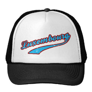 Luxembourg Trucker Hat