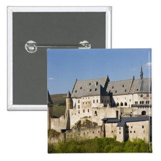 Luxembourg, Vianden. Vianden Chateau (b. 15th Button