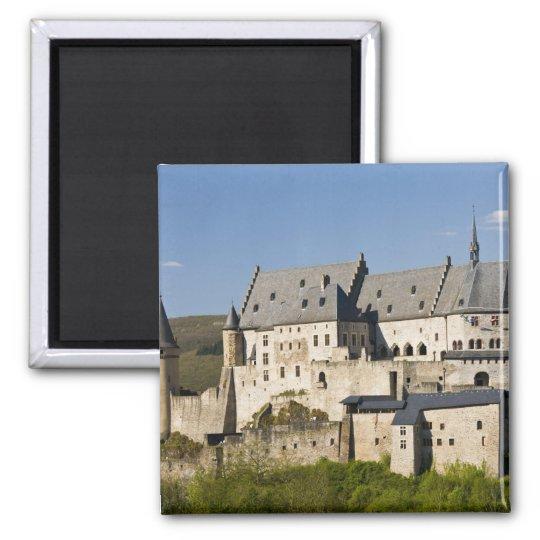 Luxembourg, Vianden. Vianden Chateau (b. 15th Magnet