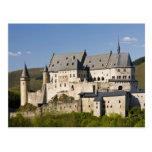 Luxembourg, Vianden. Vianden Chateau (b. 15th Post Card