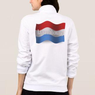Luxembourg Waving Flag Jacket