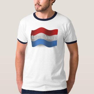 Luxembourg Waving Flag T-Shirt
