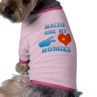 Luxembourgers are my Homies Doggie Shirt