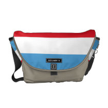 Luxemburg Flag Courier Bag