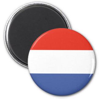 Luxemburg flag magnet