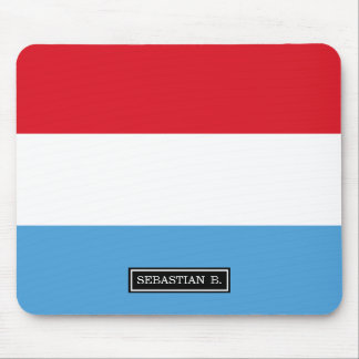 Luxemburg Flag Mouse Pad