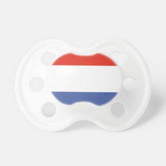 Luxemburg flag pacifier