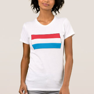Luxemburgo - bandera nacional de Luxemburgo Camiseta