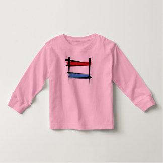Luxemburgo cepilla la bandera playeras
