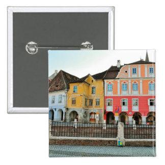 Luxemburgo contiene, Sibiu Pin Cuadrada 5 Cm