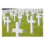 Luxemburgo, Hamm. Cementerio de los militares de l Fotografía