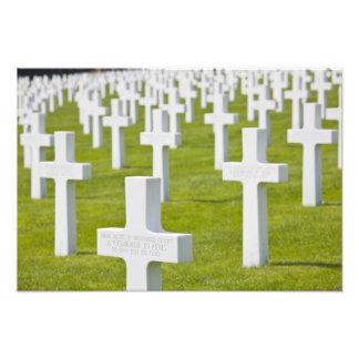 Luxemburgo Hamm Cementerio de los militares de l Fotografia