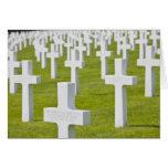 Luxemburgo, Hamm. Cementerio de los militares de l Tarjeta De Felicitación