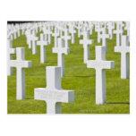 Luxemburgo, Hamm. Cementerio de los militares de Postal
