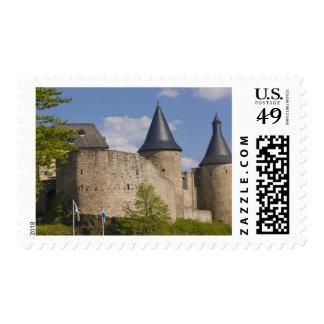 Luxemburgo, River Valley seguro. Bourscheid, Timbre Postal