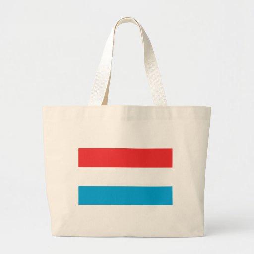 Luxemburgo señala por medio de una bandera bolsas lienzo