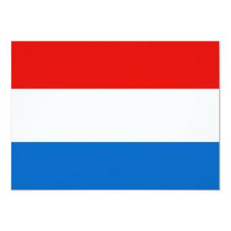 """Luxemburgo señala por medio de una bandera invitación 5"""" x 7"""""""