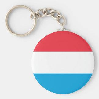 Luxemburgo señala por medio de una bandera llavero personalizado