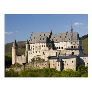 Luxemburgo, Vianden. Castillo francés de Vianden Postal
