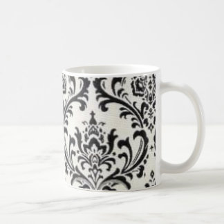LUXERY BLACK AND WHITE 2 COFFEE MUG
