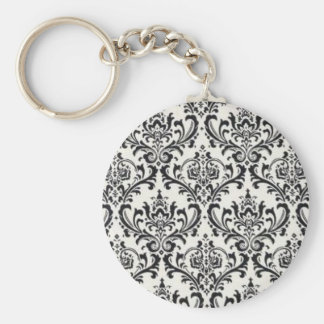 LUXERY BLACK AND WHITE 2 KEYCHAIN