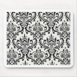 LUXERY BLACK AND WHITE 2 MOUSE PAD