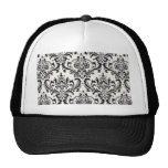 LUXERY BLACK AND WHITE 2 TRUCKER HAT