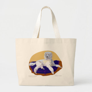 Luxery is the only way to go! tote bags