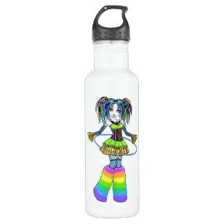 Luxie Rainbow CyberGoth Hula Hoop Fairy Bottle