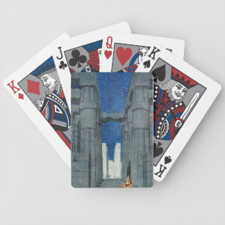 Luxor at Night Cards Bicycle Playing Cards