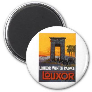 Luxor Egipto Imán Redondo 5 Cm