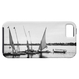 Luxor Egypt, Feluccas on the Nile 2 iPhone 5 Covers