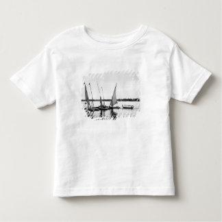 Luxor Egypt, Feluccas on the Nile 2 Toddler T-shirt