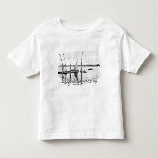 Luxor Egypt, Feluccas on the Nile Toddler T-shirt