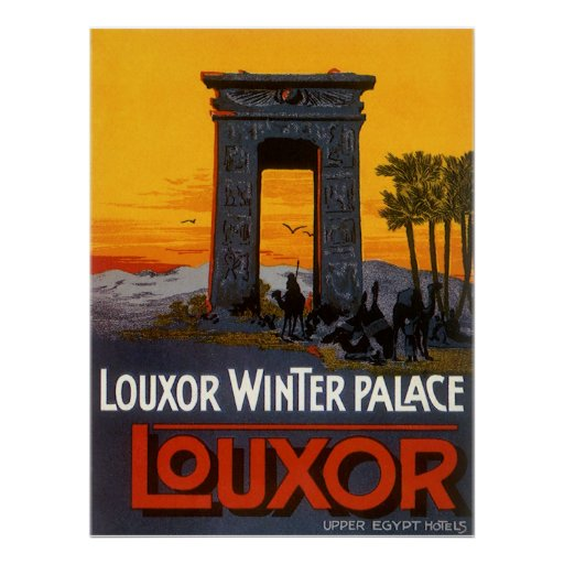 Luxor Egypt Posters