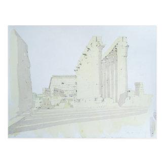 Luxor Temple Postcard