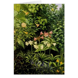Luxuriant Garden Card