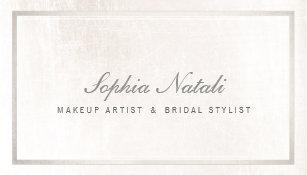 Bridal Makeup Artist Business Cards Zazzle