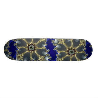 Luxurious Fractal Skateboard Deck