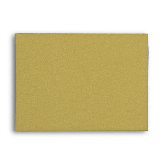 Luxurious Glitter Gold Envelope