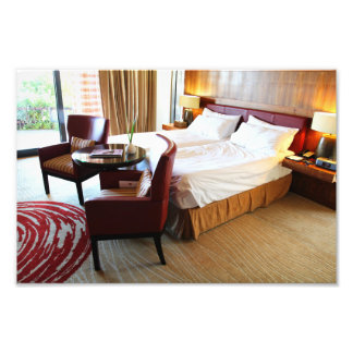 Luxurious Hotel Room Photographic Print