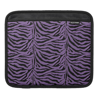 Luxurious Lavender Zebra Sleeve For iPads