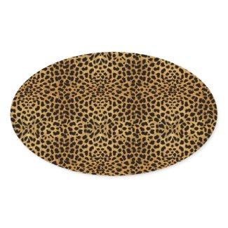 Luxurious Leopard Envelope Seal Sticker Leopard sticker