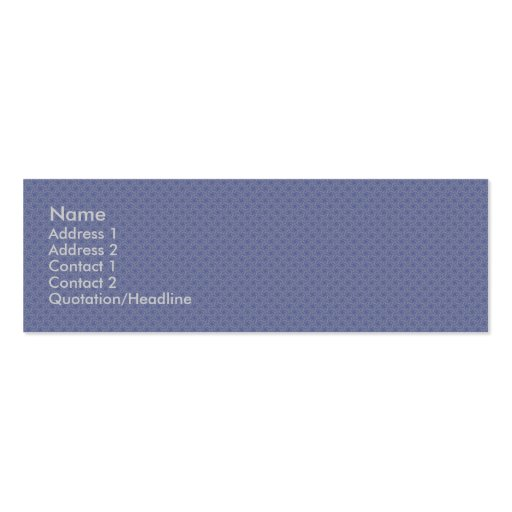 luxurious light grey pattern on rough blue backgro business card