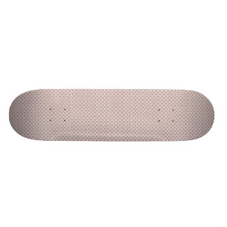 luxurious pink pattern on rough white background skateboard decks