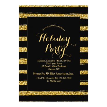 Professional Business Luxurious Stripes Invitation