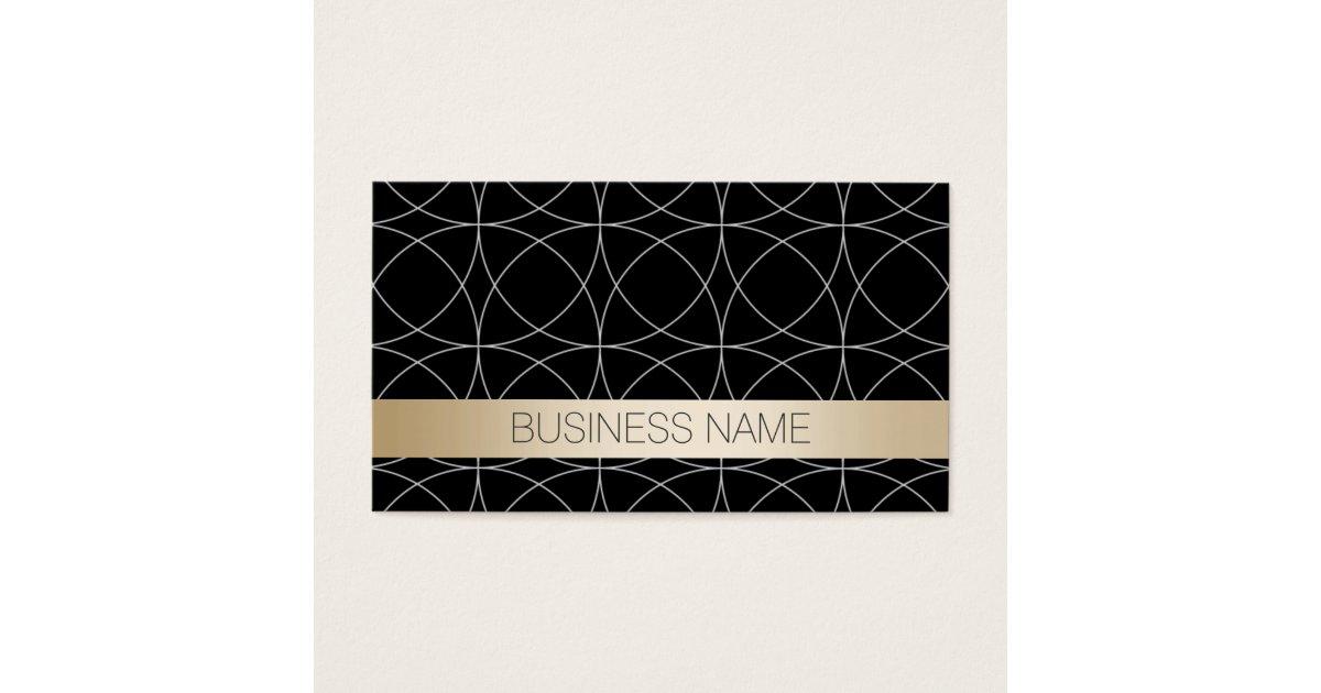 Luxury Black & Gold Bookkeeper Business Card   Zazzle.com