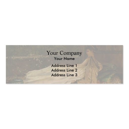 Luxury by John Atkinson Grimshaw Business Card